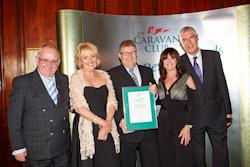 Lunar And Venus Triumph At 2014 Caravan Club Awards