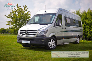 Lunar Landstar Is Caravan Club Motorhome Of The Year 2014