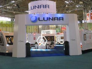 Record Sales For Lunar At Caravan, Camping & Motorhome Show
