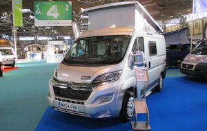 Wildax Motorhomes Launch The Pulsar At The Caravan, Camping & Motorhome Show