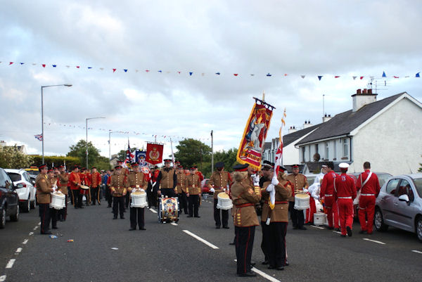 Marching Bands At Bushmills