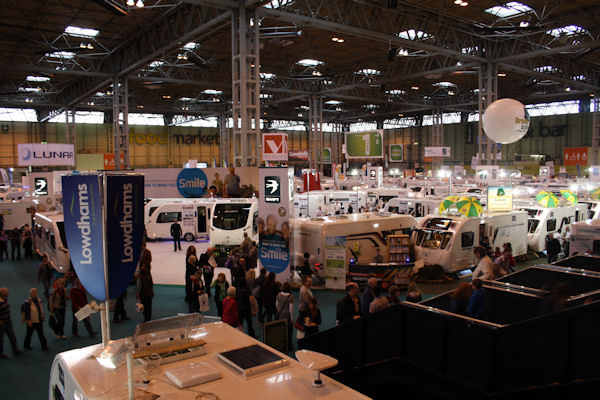 What's New At The Motorhome And Caravan Show This October?