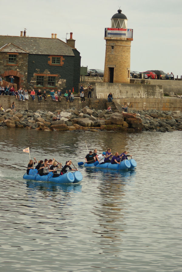 Raft Races At Port Patrick