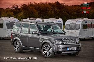 Land Rover Crowned Caravan Club Towcar Champion For 2016