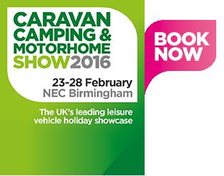 The Caravan, Camping & Motorhome Show NEC Birmingham – 23 – 28 February 2016