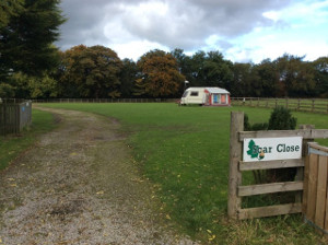 Scar Close Caravan Club CL Site, Richmond: Ambling Airedale's Travels