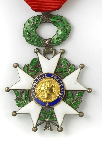 Légion d'honneur For Camping & Caravanning Club Member