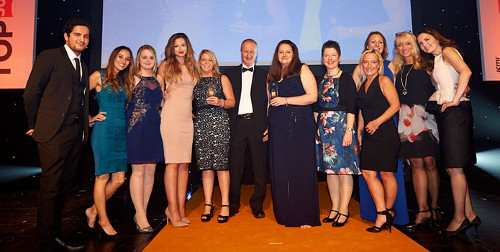 Caravan Club Wins Customer Service Award