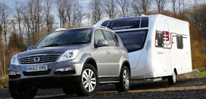 Ssanyong Rexton – The Best Value Caravan Towcar?