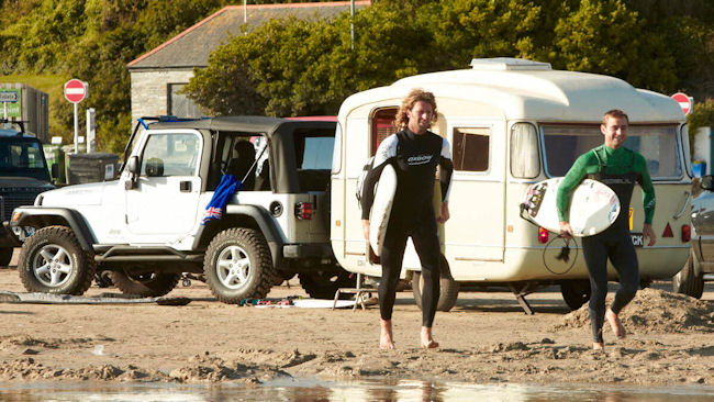 Caravan and Motorhome Club announces sponsorship of English National Surf Championships