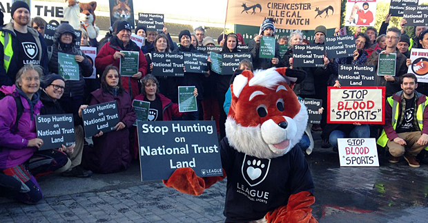 National Trust Fails To Ban Illegal Hunting
