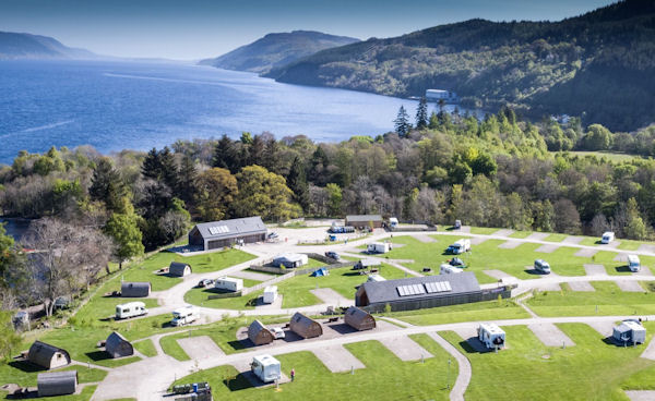 Loch Ness Shores Named Caravan Park Of The Year