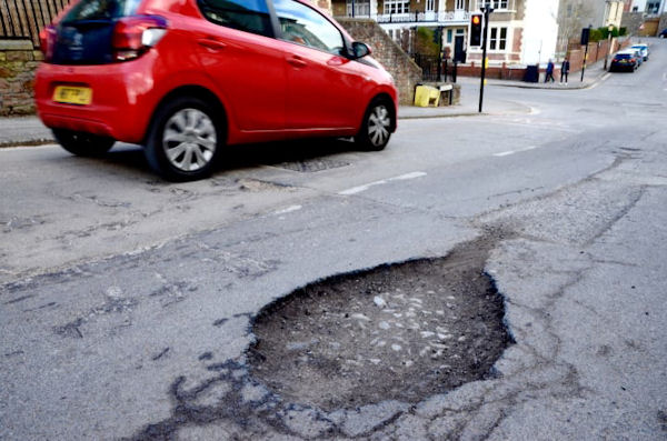 The Great British Pothole